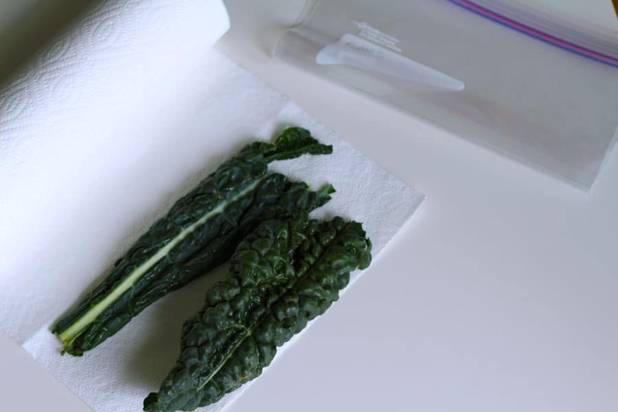 How to Store Your Greens 2