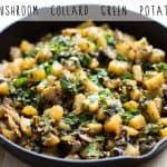 Mushroom Collard Green Potatoes