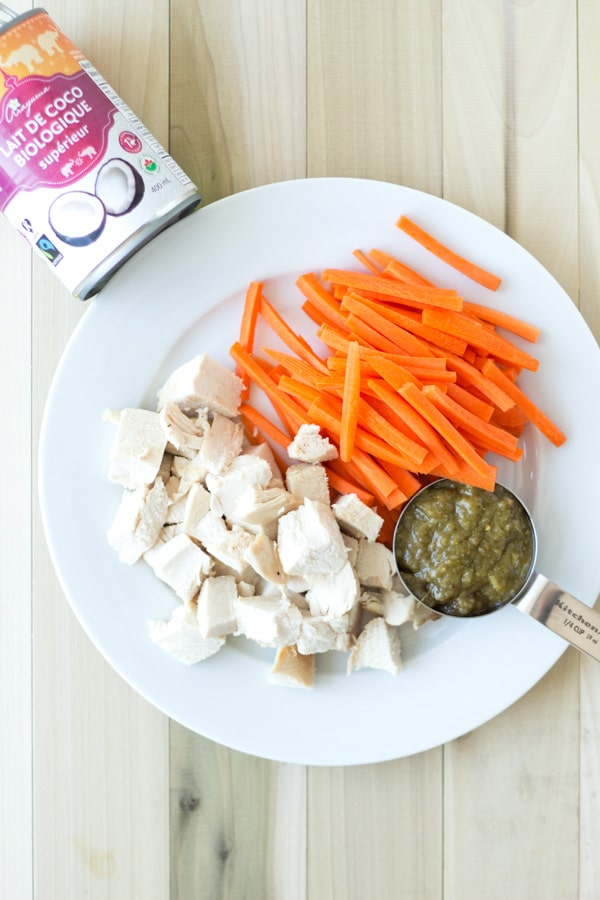 Quick and Easy Thai Green Curry Ingredients