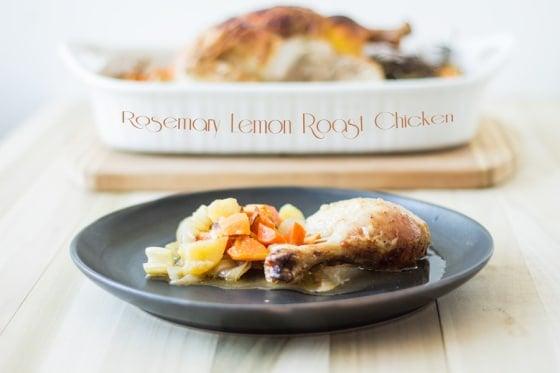 Rosemary Lemon Roast Chicken