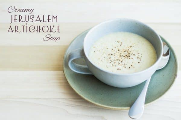 Creamy Jerusalem Artichoke Soup