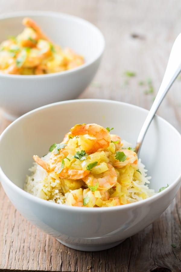 15-Minute Coconut Shrimp Curry 2