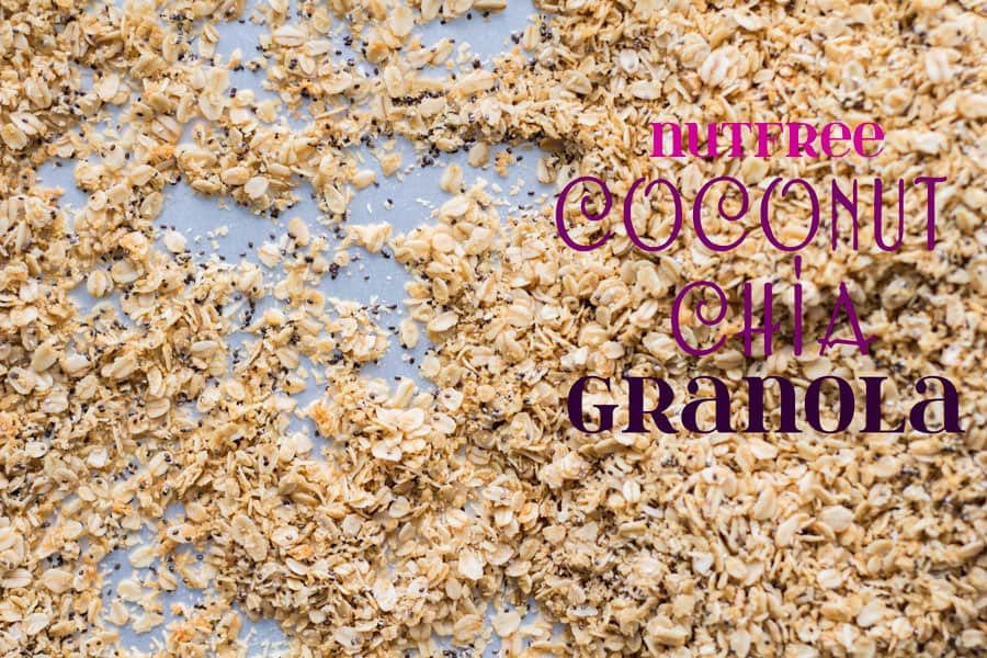 Nutfree Coconut Chia Granola