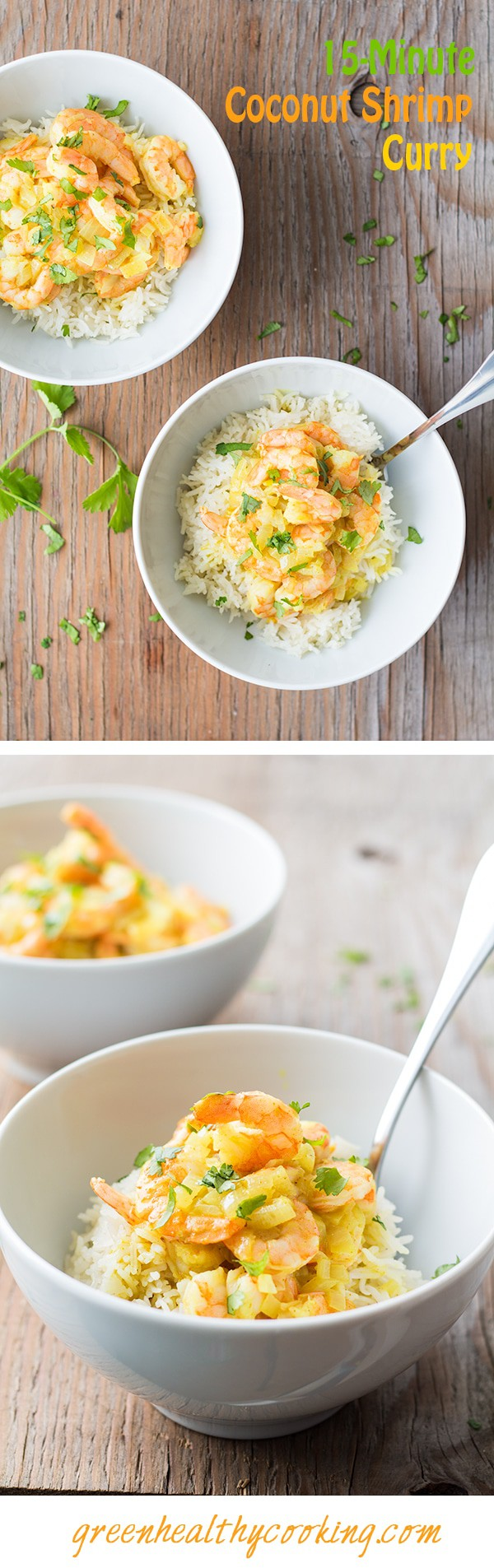 15-Minute Coconut Shrimp Curry recipe that competes with any fast ...