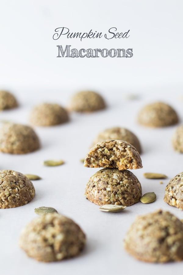 Pumpkin Seed Macaroons