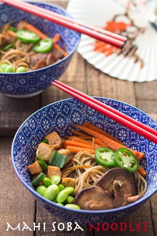 Mahi Soba Noodle Stir-Fry