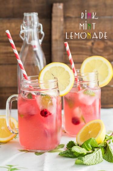 Pink Mint Lemonade