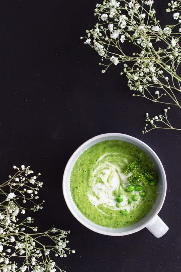 Simple Green Pea Soup 2