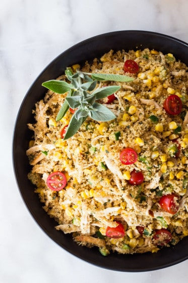 A recipe for Sage Butter and Couscous lovers. A nutrient-dense and tasteful combination prepared in less than half an hour.