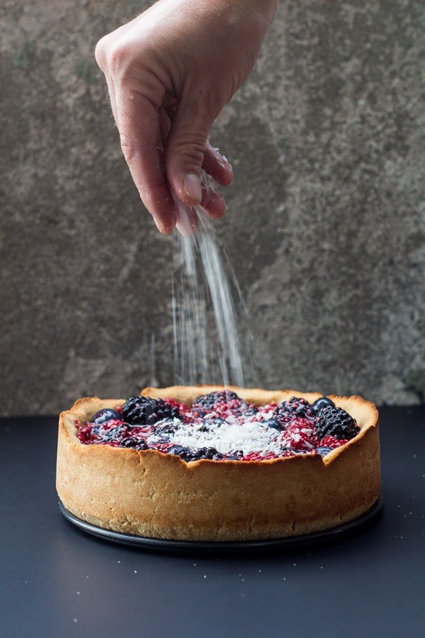 Healthy Berry Cake