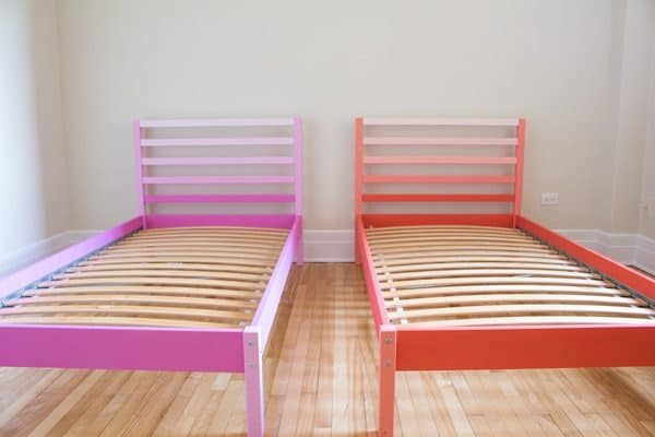 """This Ikea Tarva Bed Hack is intended to serve as inspiration on """"how to pimp your simple wooden furniture"""""""