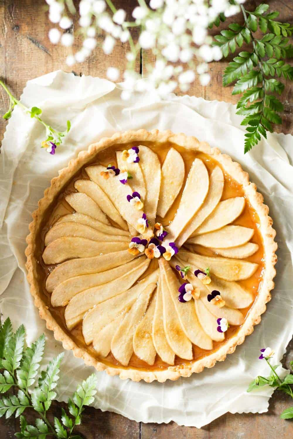 Simple Pear Tart