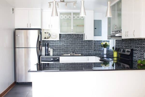 The New Kitchen of Green Healthy Cooking. Bright and big and beautiful and BEYOND PERFECT!!!