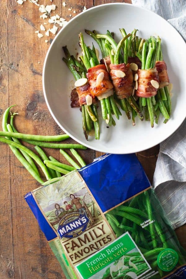 Mann's Bacon Wrapped Green Beans