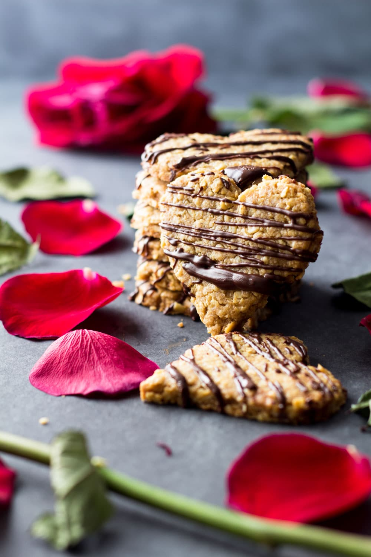 Healthy Spelt Oat Cookies
