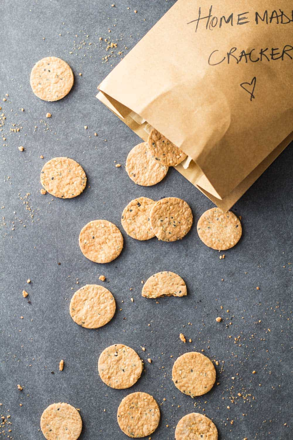 15-Minute Prep Homemade Crackers