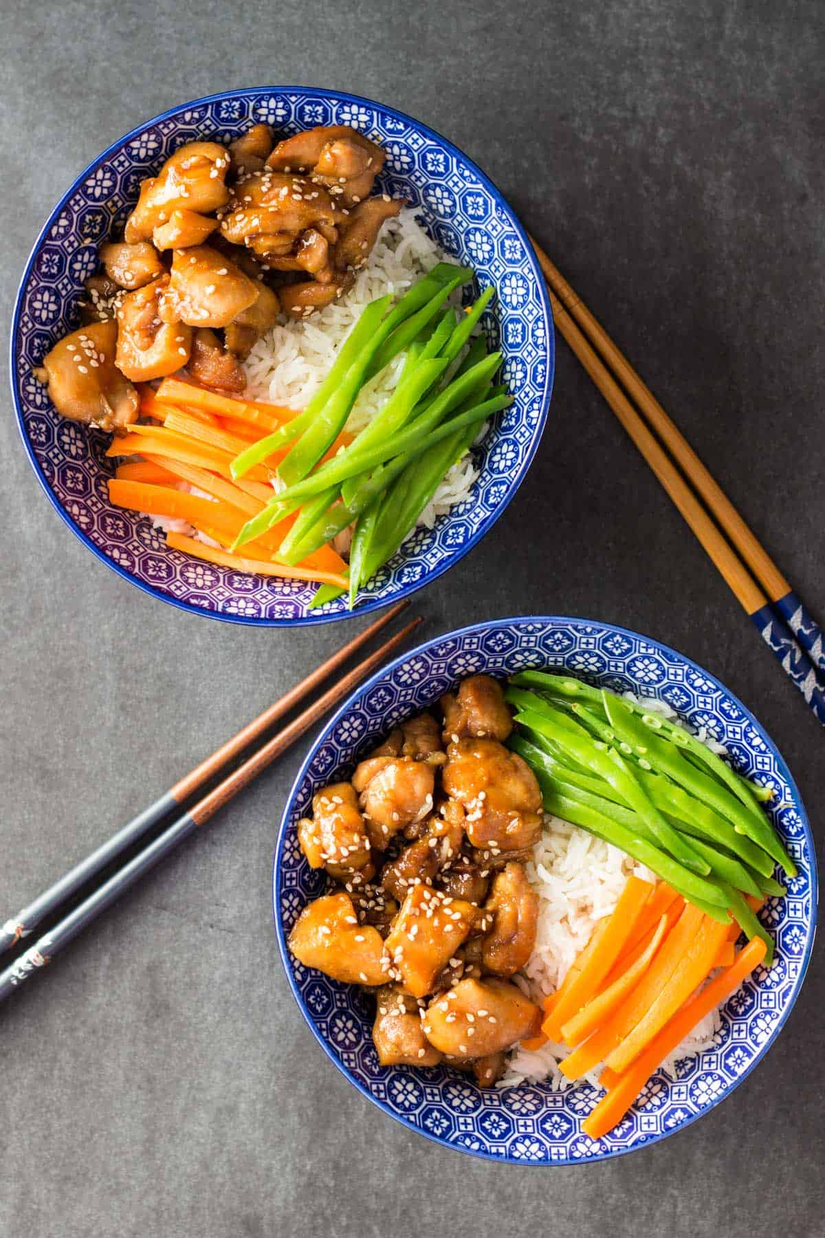 Vietnamese Sticky Chicken Bowl