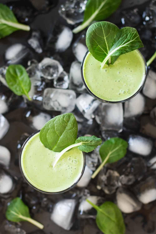 Greek Yogurt Green Smoothie