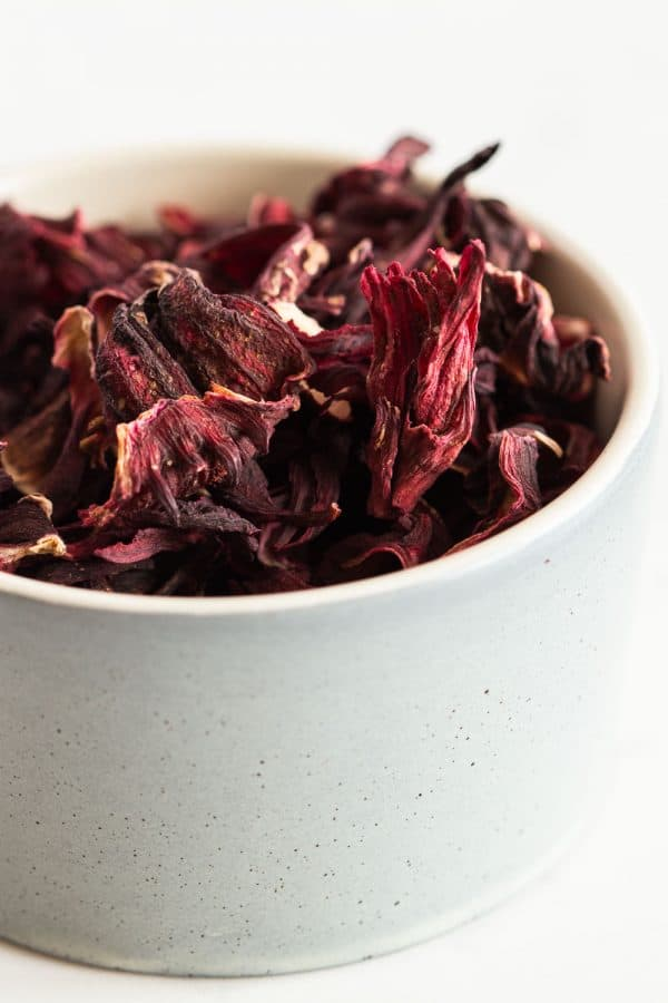 Hibiscus Flowers in a bowl