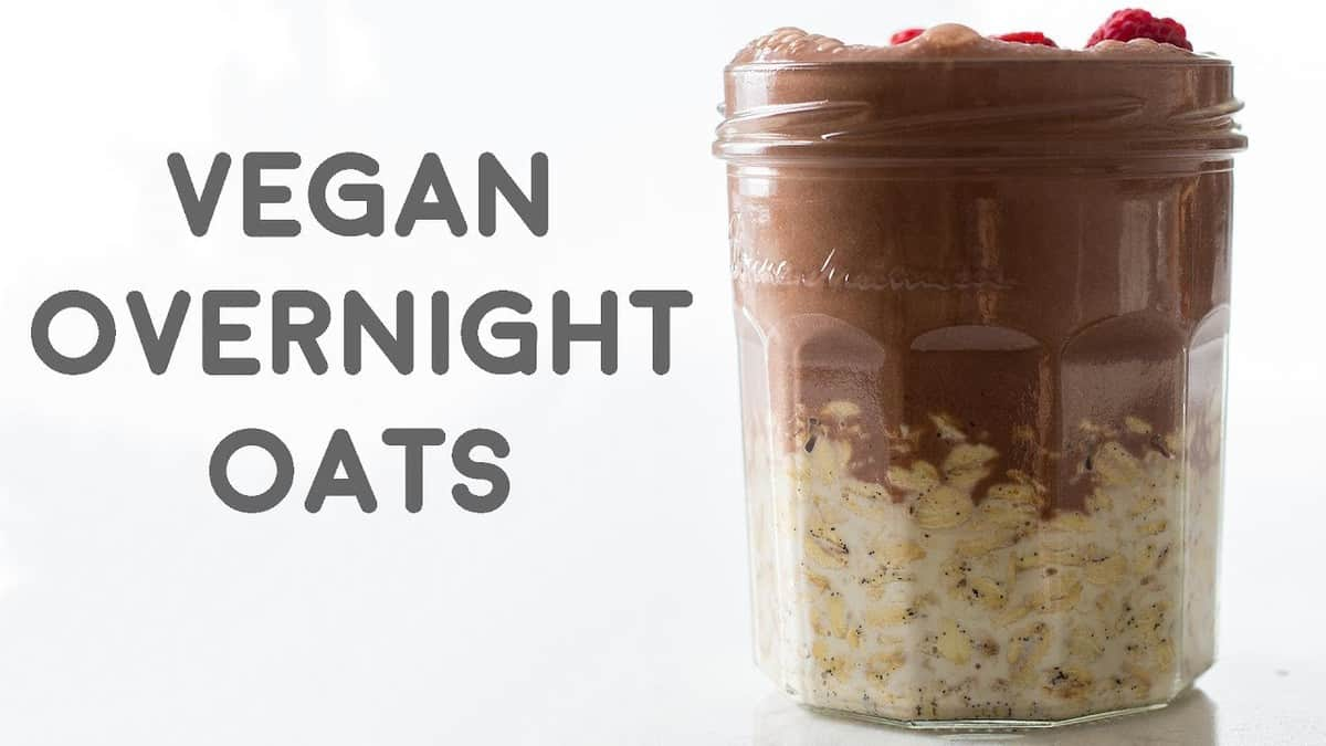 the most amazing vegan overnight oats green healthy cooking. Black Bedroom Furniture Sets. Home Design Ideas