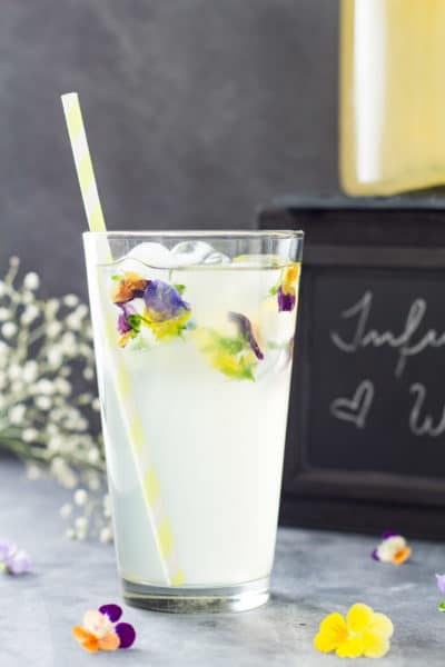 Healthy and delicious Lemon Infused Water recipe including video on how to best make lemon infused water. Are you ready for a refreshing summer drink?