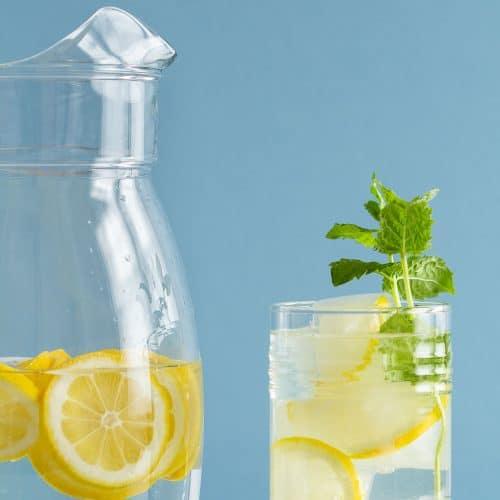 Lemon Infused Water
