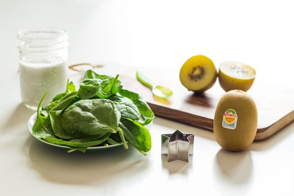 This 3 ingredient Green Smoothie For Kids is a shot of healthy nutrition for your little one. Vitamins, fibre & iron all packed into one cup of green liquid