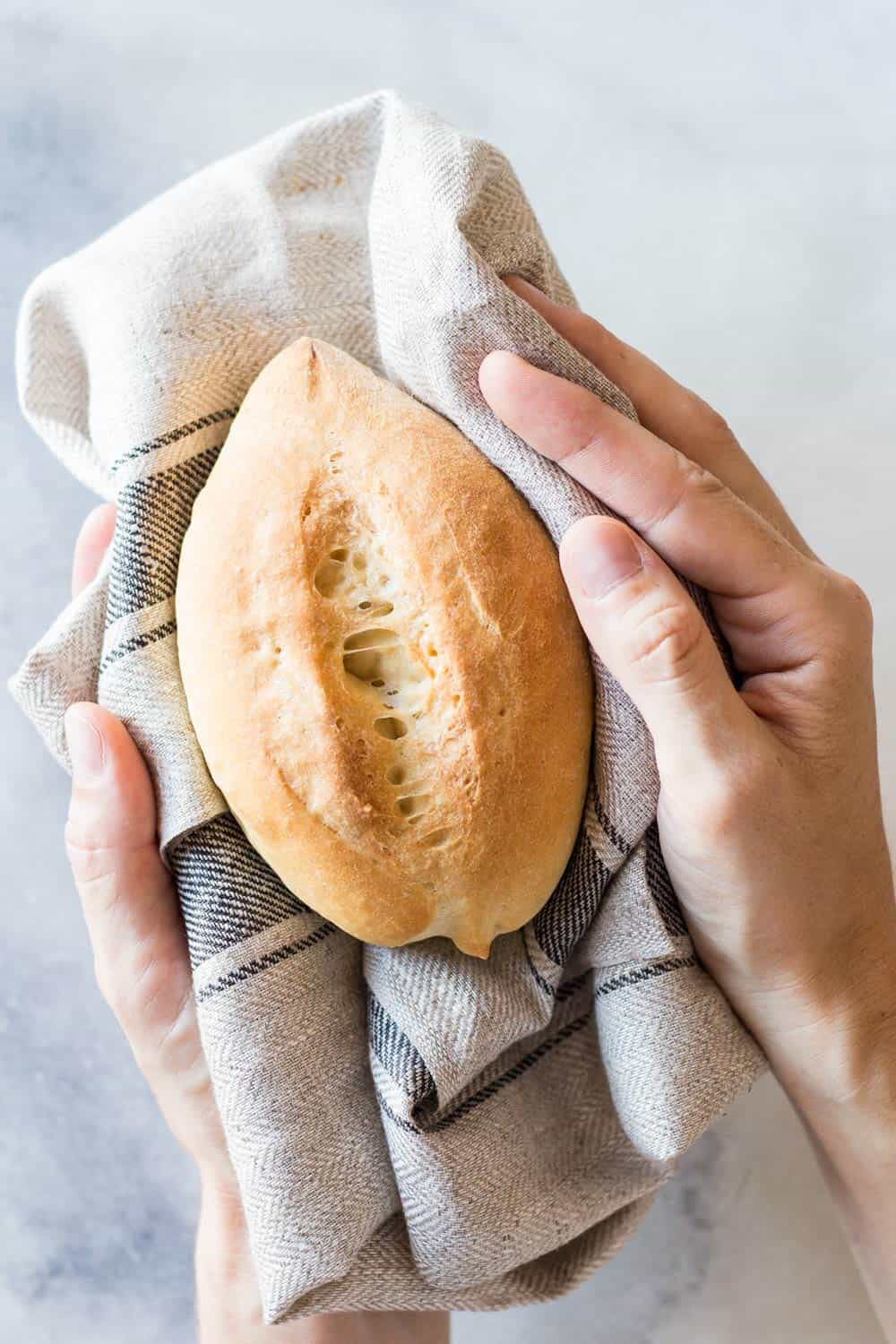 Mexican Dinner Rolls (Bolillos)