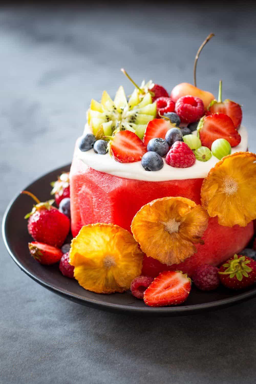 Vegan Watermelon Cake