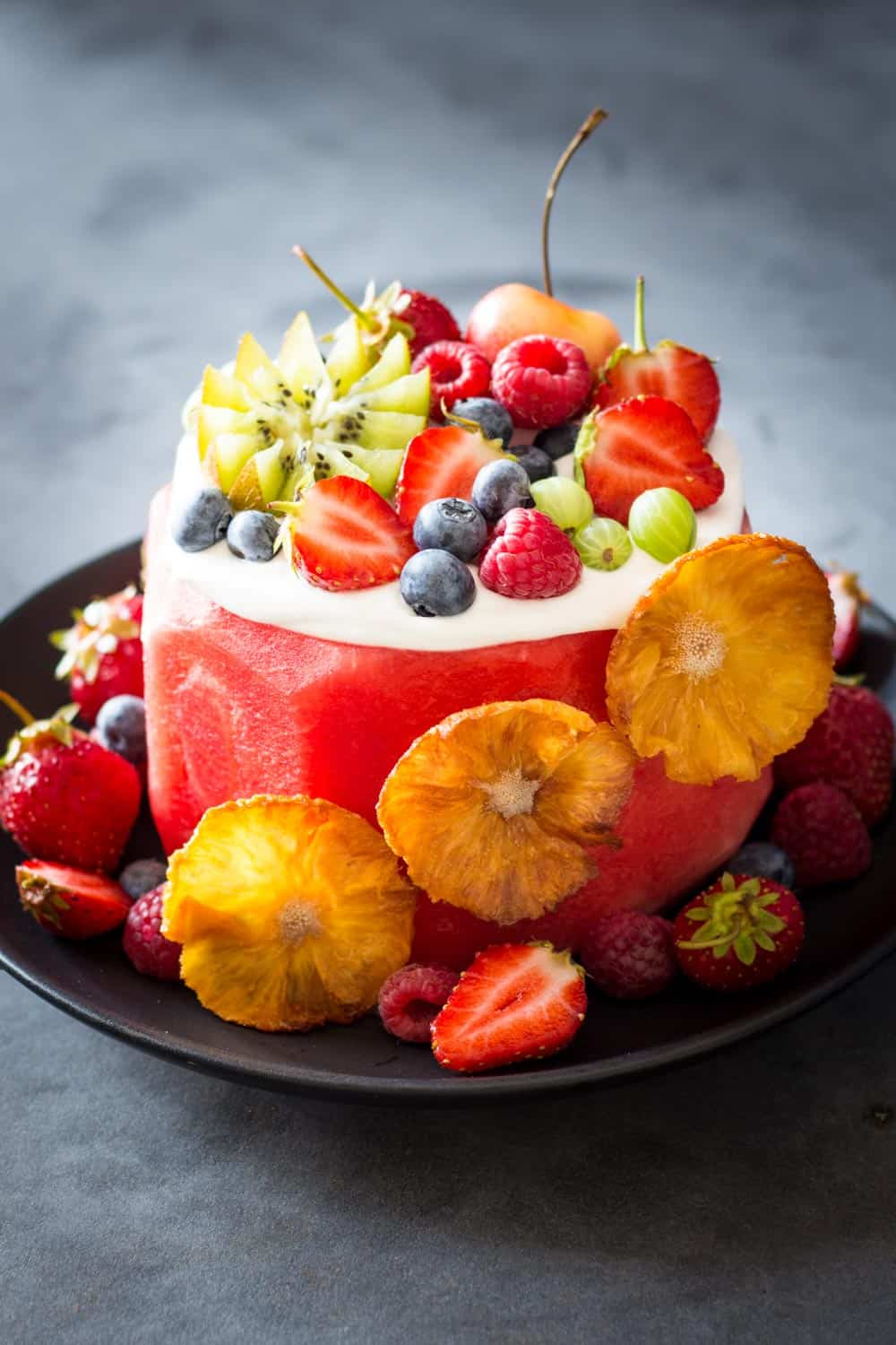 There Is No Better Summer Birthday Cake Or Dessert In General Than This Vegan Watermelon