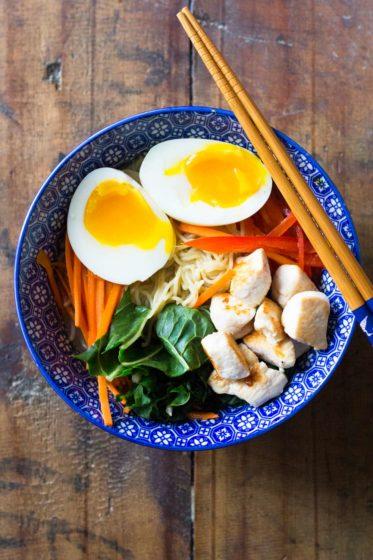 15-Minute Chicken Ramen Soup
