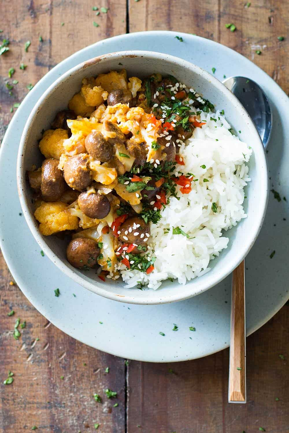 20-Minute Vegan Yellow Curry