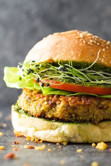 30-Minute Quinoa Burger