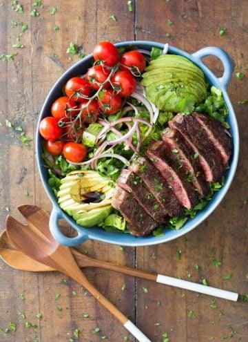Strip loin steak recipe
