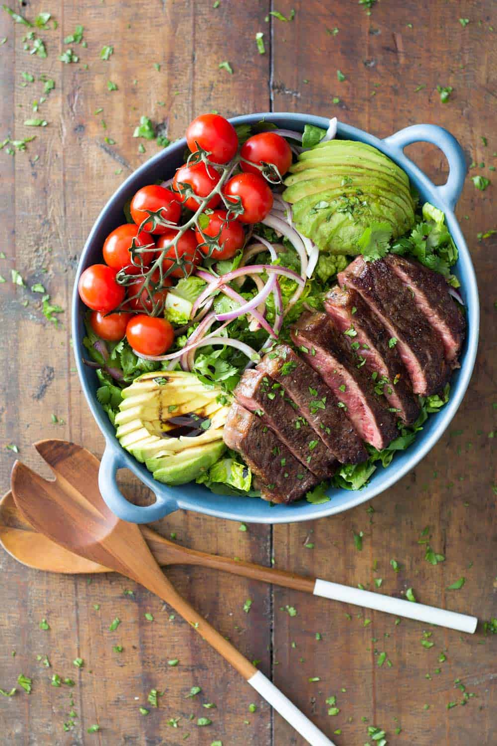 Strip Loin Steak Salad