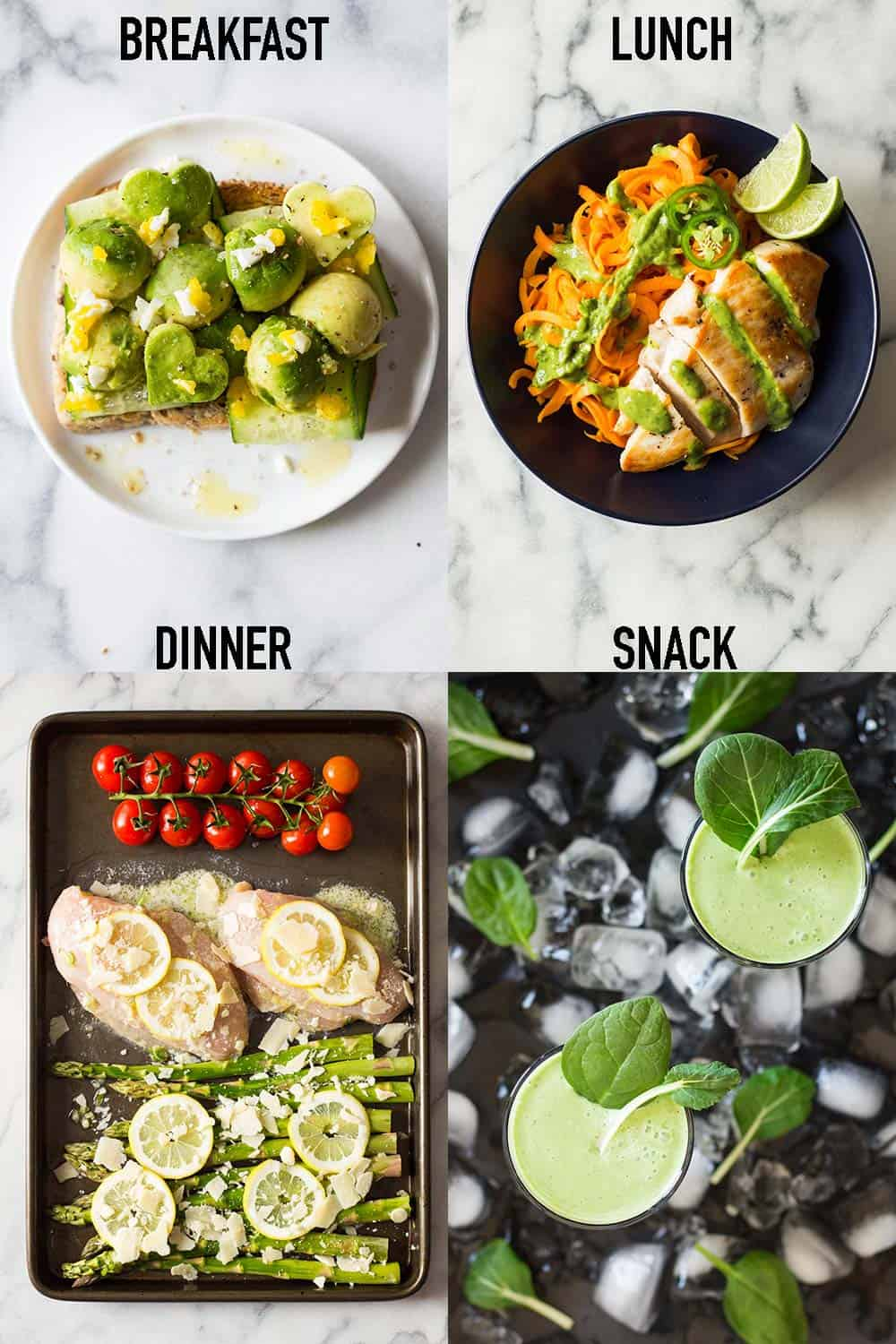 Fill Half Your Plate With Fruits & Veggies