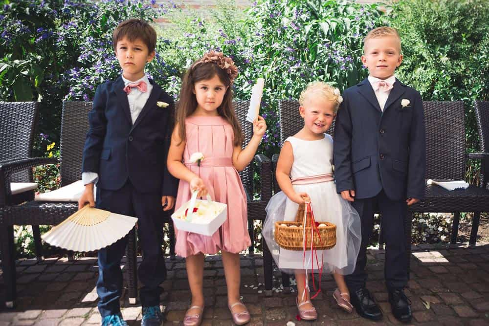 The wedding wedding: Kids