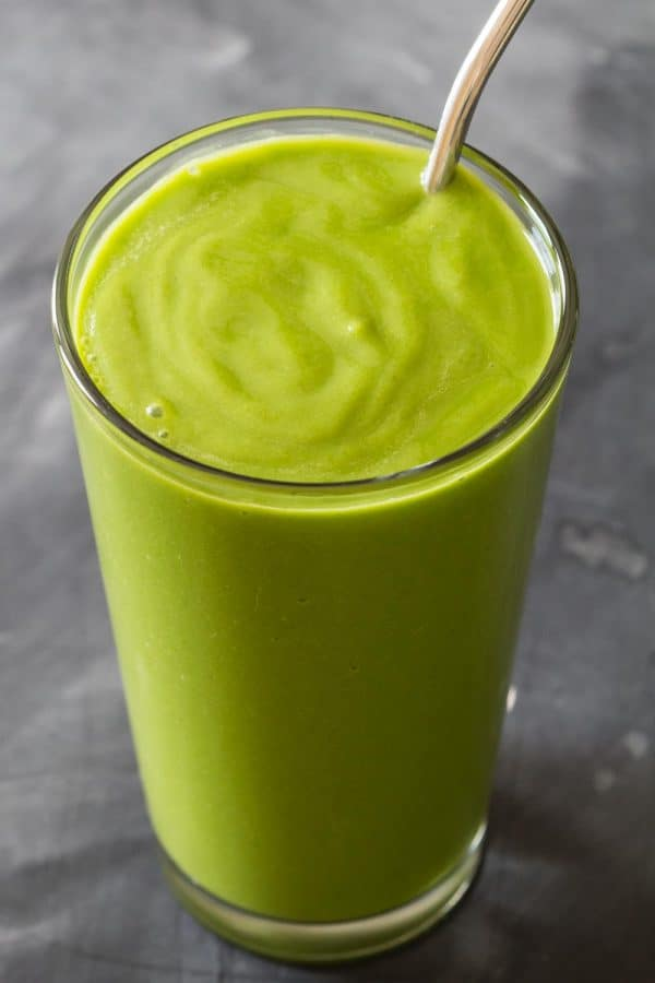 Avocado spinach smoothie