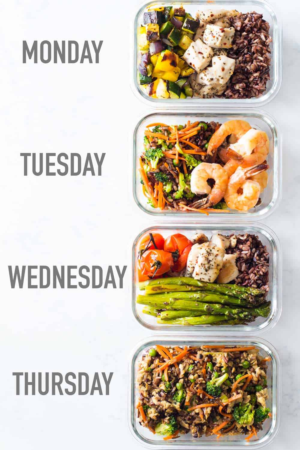 5 Healthy Meals For One