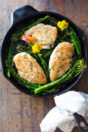 One Pan Chicken and Broccolini®
