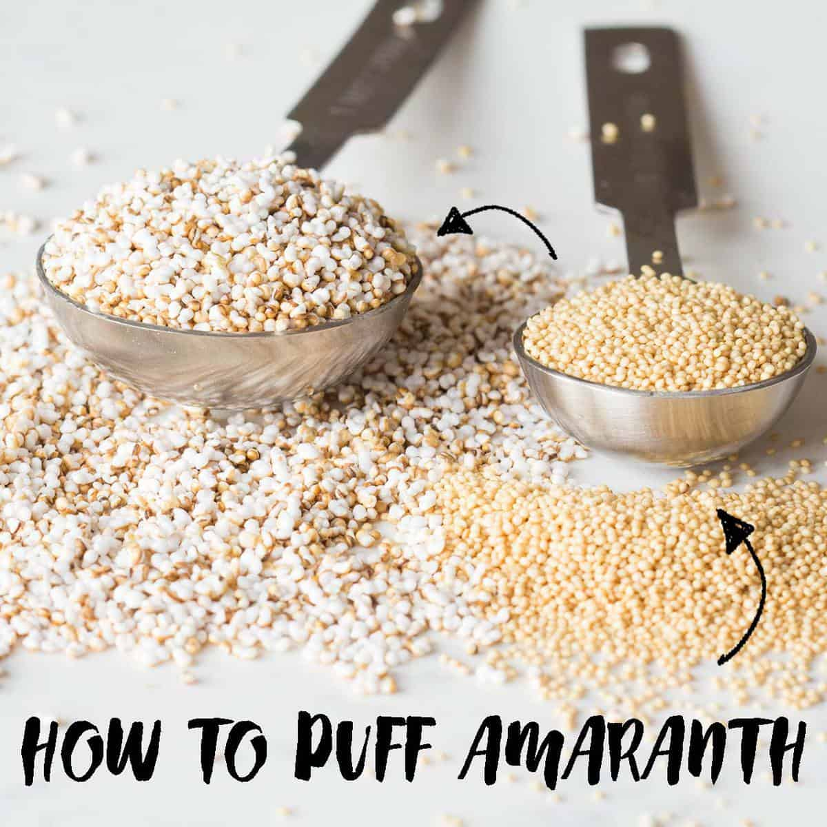 how to make popped amaranth green healthy cooking