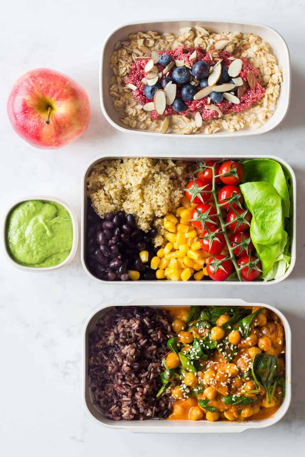 Nutritionally-Balanced Vegan Meal Plan