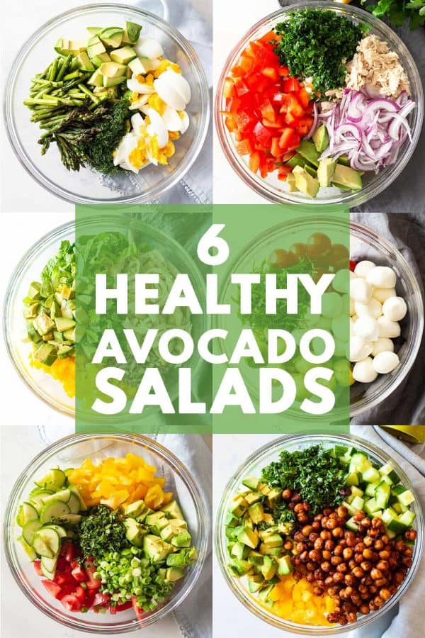 6 Healthy Avocado Salads