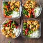 Teriyaki Chicken Meal Prep Bowls