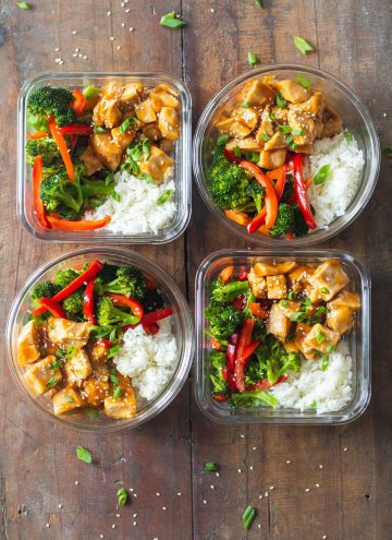 Teriyaki Chicken Meal Prep Bowls