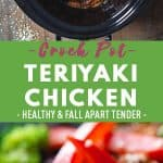 Crock Pot Teriyaki Chicken Pin