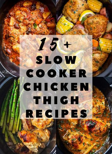 Slow Cooker Chicken Thigh Recipes Pin