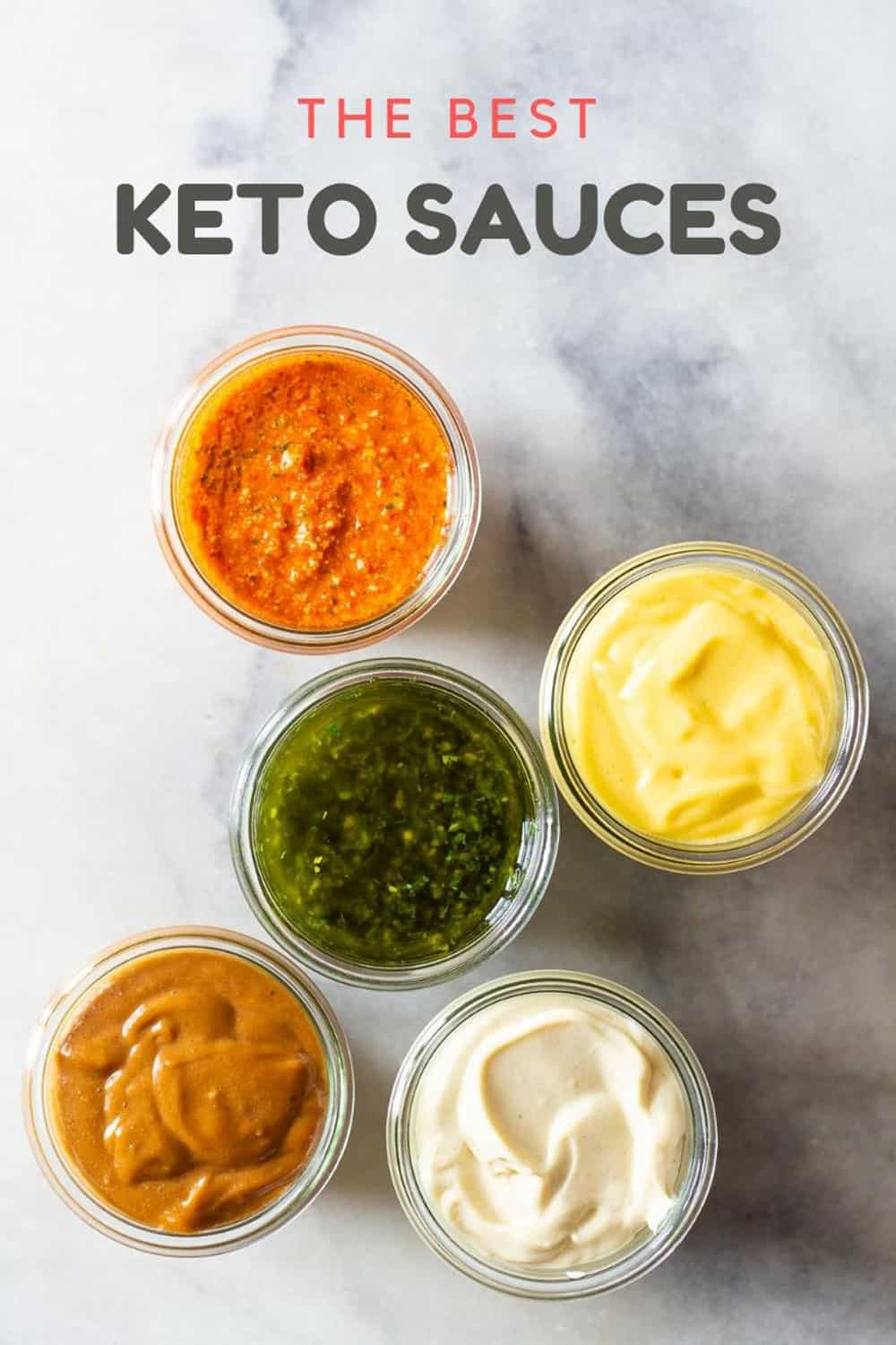The Best Keto Sauces Green Healthy Cooking