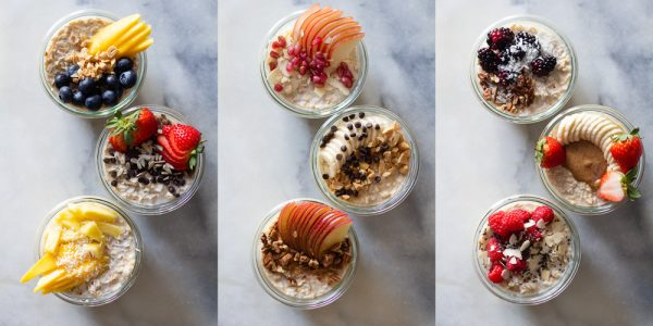 Overnight Oats topping ideas