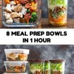 Healthy Meal Prep Bowls Pin